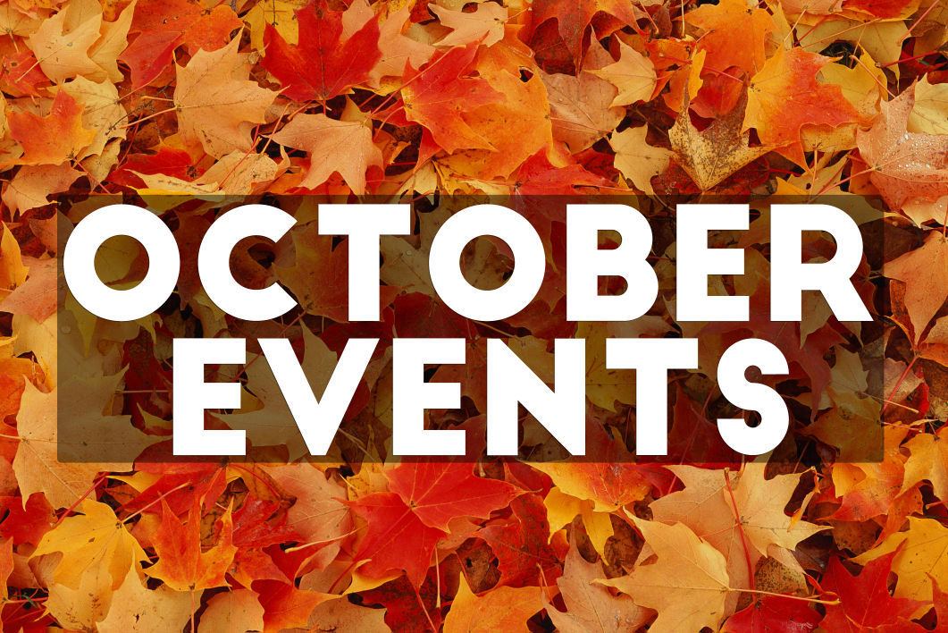 Events Happening in October