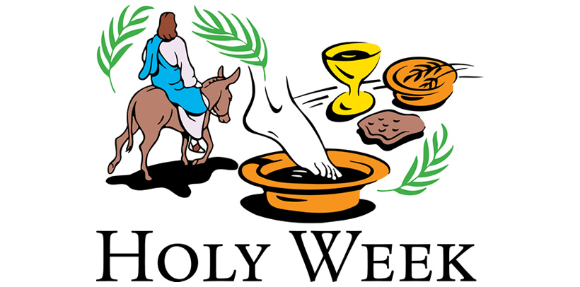 Printable Bulletins for Holy Week Online Services