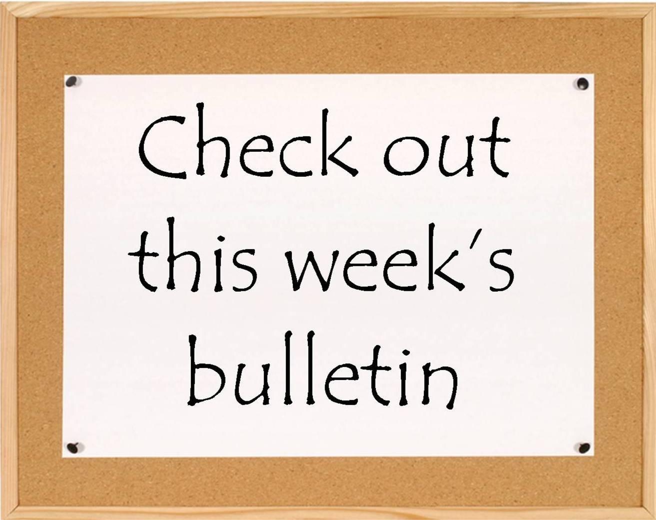 Bulletin for Sunday June 6th